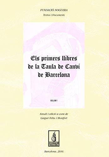Els Primers Llibres de la Taula de Canvi de Barcelona