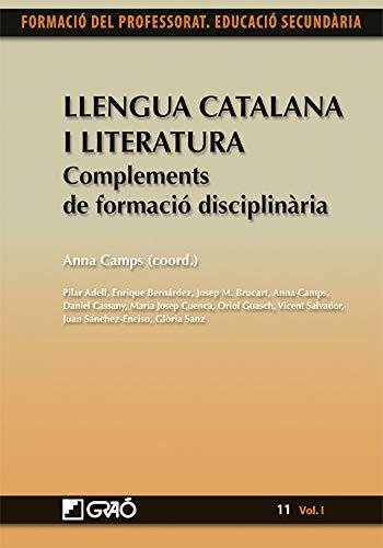 9788499803616: Llengua Catalana i Literatura. Complements de formació disciplinària: 111 (Formacion Profesorado-E.Secun.)