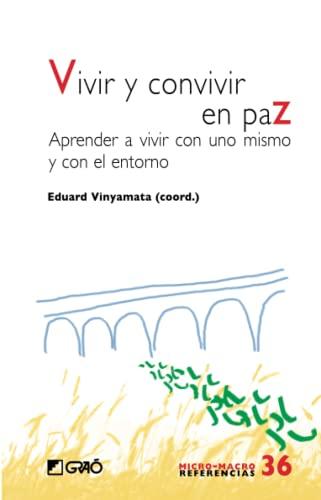 9788499804293: Vivir y convivir en paz (Spanish Edition)