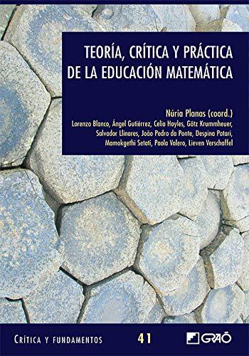 Teoría, crítica y práctica de la educación: Lorenzo Blanco Nieto/Salvador
