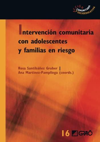 9788499804828: INTERVENCION COMUNITARIA CON ADOLESCENTES Y FAMILIAS DE RIE