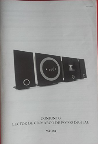 9788499812250: CONJUNTO LECTOR DE CD/MARCO DE FOTOS DIGITAL WO184 - Manual de usuario