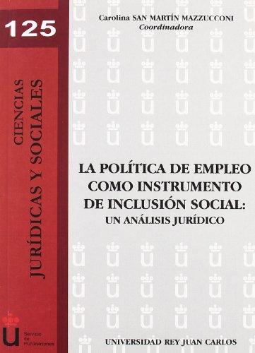 La politica de empleo como instrumento de