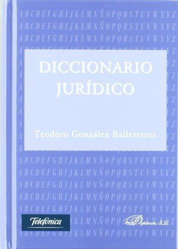 9788499822273: Diccionario juridico / Law Dictionary (Spanish Edition)