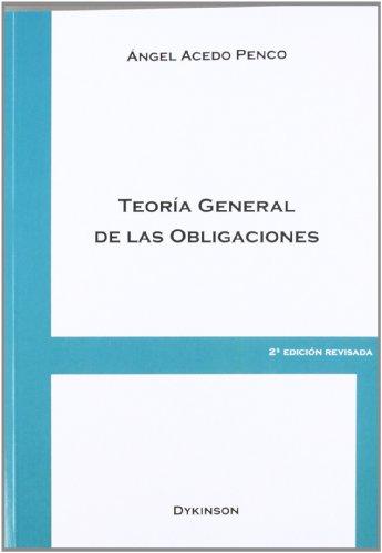 9788499827957: Teoría general de las obligaciones
