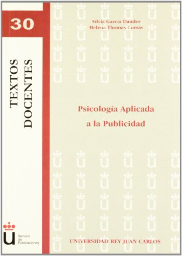9788499828053: Psicologia aplicada a la publicidad / Psychology applied to publicity (Spanish Edition)