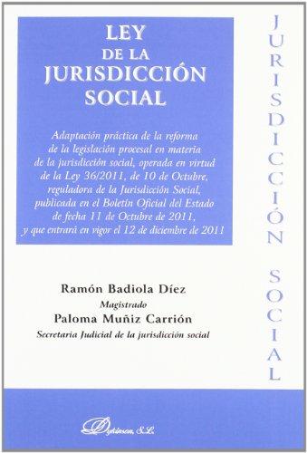 9788499828299: Ley de la jurisdicción social 2011
