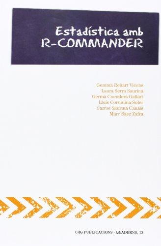 9788499842141: Estadística amb R-Commander (UdG Publicacions)