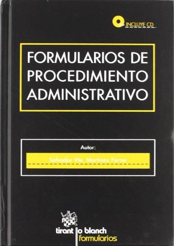 9788499850825: Formularios de Procedimiento Administrativo