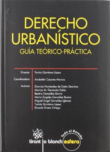 9788499850849: Derecho Urbanístico . Guía Teórico-práctica
