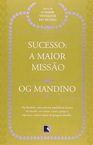 9788501030801: Sucesso: A Maior Missao