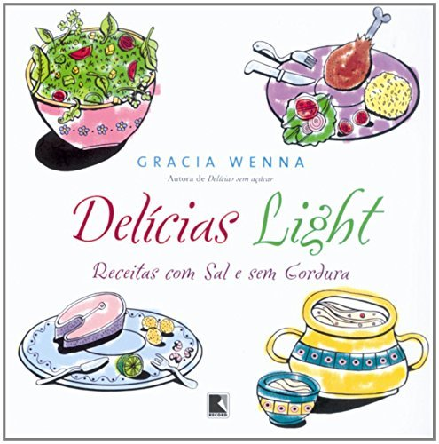 9788501060211: Del�cias Light (Em Portuguese do Brasil)