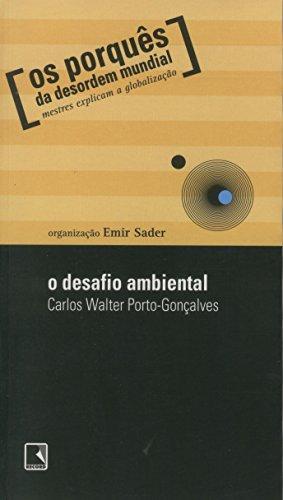 9788501069412: O Desafio Ambiental (Em Portuguese do Brasil)