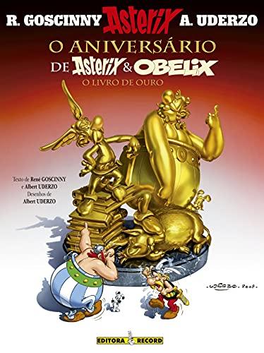 9788501088383: Aniversario de Asterix e Obelix - O Livro de Ouro (Em Portugues do Brasil)