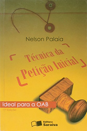 9788502071650: Tecnica Da Petiçao Inicial (Em Portuguese do Brasil)