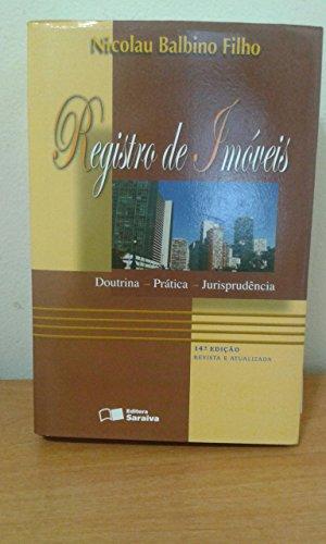 9788502073913: Registro De Imoveis (Em Portuguese do Brasil)