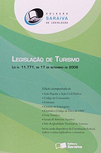 9788502076808: Legislação de Turismo. Lei N.11.771 de 17 de Setembro de 2008 (Em Portuguese do Brasil)