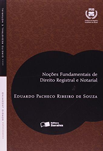 9788502082946: Noções Fundamentais de Direito Registral e Notarial (Em Portuguese do Brasil)