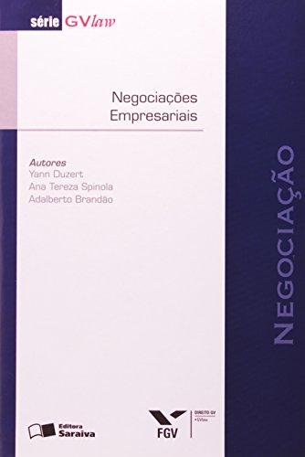 9788502084377: Negociação. Negociações Empresariais - Série GVlaw (Em Portuguese do Brasil)