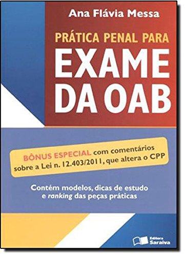 9788502117532: Pratica Penal Para Exame Da Oab (Em Portuguese do Brasil)