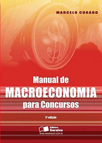 9788502126268: Manual de Macroeconomia Para Concursos