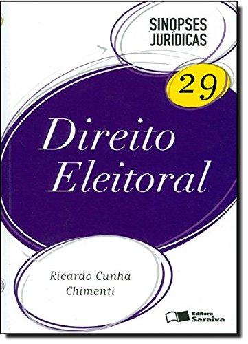 9788502130814: Direito Eleitoral. Sinopses Jurídicas - Volume 29 (Em Portuguese do Brasil)