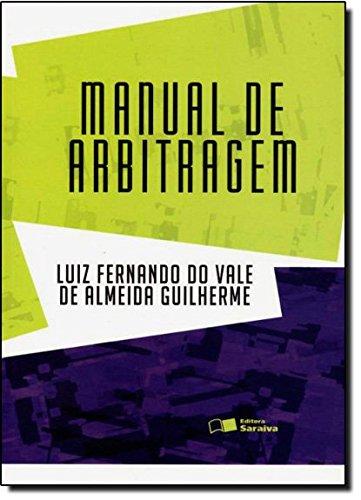 9788502138179: Manual de Arbitragem