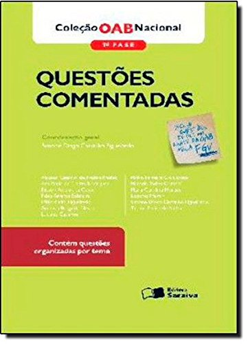 9788502143371: Oab Nacional - 1. Fase - Questoes Comentadas - Inclui Questoes Do Ulti