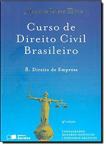 9788502143852: Curso de Direito Civil Brasileiro: Direito de Empresa - Vol.8