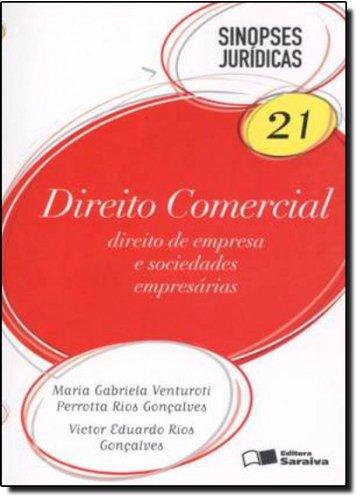 9788502158283: Direito Comercial. Coleção Sinopses Jurídicas - Volume 21 (Em Portuguese do Brasil)