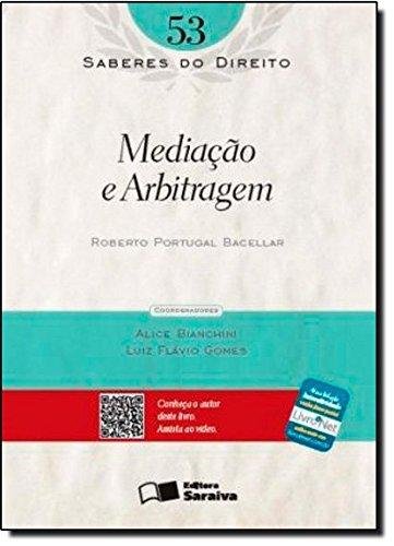 9788502171817: Mediação e Arbitragem - Volume 53