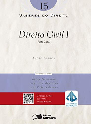 9788502177321: Saberes do Direito: Parte Geral - Vol.15
