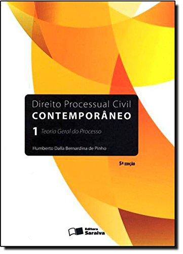 9788502195707: Direito Processual Civil Contemporâneo 1