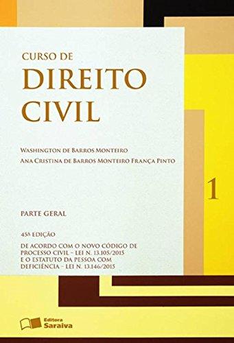 9788502196100: Curso de Direito Civil: Parte Geral - Vol.1