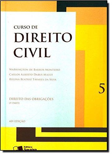 9788502196704: Curso De Direito Civil. Direito Das Obrigações - Volume 5. 2ª Parte (Em Portuguese do Brasil)