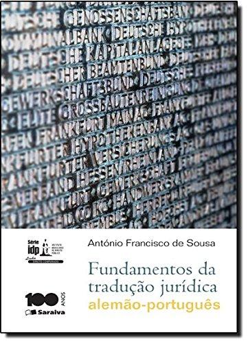 9788502202948: Fundamentos da Traducao Juridica - Alemao - Portugues - Serie I D P