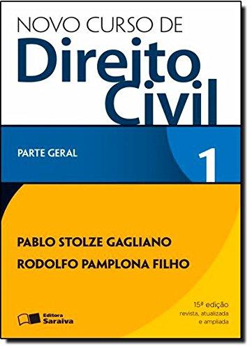 9788502217980: Novo Curso de Direito Civil - Volume 1 (Em Portuguese do Brasil)