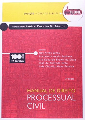 9788502220317: Manual de Direito Processual Civil - Colecao icones do Direito - 2014