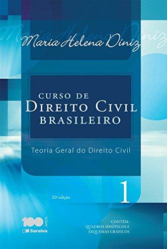 9788502226548: Curso de Direito Civil Brasileiro: Teoria Geral do Direito Civil - Vol.1