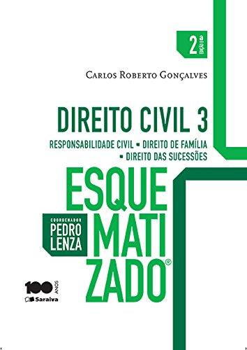 9788502619562: Direito Civil: Responsabilidade Civil, Direito de Familia, Direito das Sucessoes - Vol.3 - Colecao Esquematizado