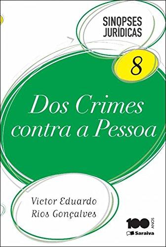 9788502620681: Dos Crimes Contra a Pessoa - Vol.8 - Colecao Sinopses Juridicas