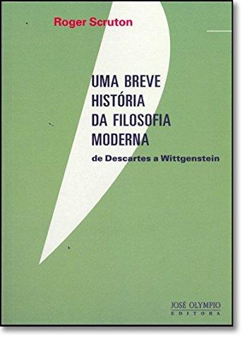 9788503008686: Uma Breve Historia da Filosofia Moderna: de Descar (Em Portugues do Brasil)