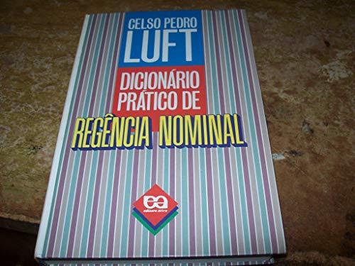 9788508040735: Dicionário prático de regência nominal (Portuguese Edition)