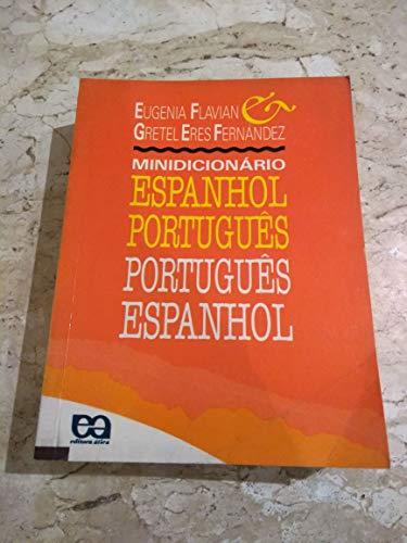 Minidicionario Espanhol Portugues Portugues Espanh (Em Portuguese: 0