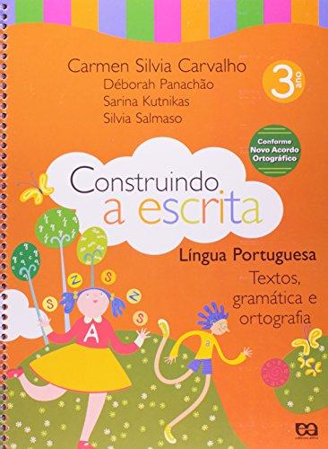 9788508089291: Construindo a Escrita: Língua Portuguesa - 2 Série - 1 Grau