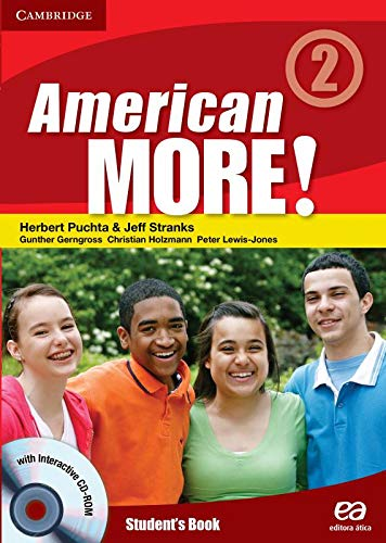 9788508148035: American More! 2. Student's Book. 7� Ano (Em Portuguese do Brasil)
