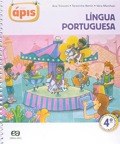 9788508169221: Projeto Ápis. Lingua Portuguesa. 4º Ano