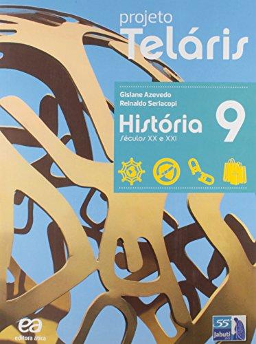 9788508172597: Projeto Telaris - Historia - 9¼ ano