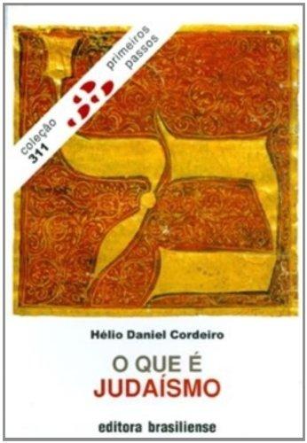 9788511000443: O Que É Judaísmo - Coleção Primeiros Passos (Em Portuguese do Brasil)