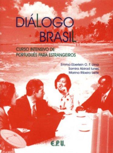 9788512542201: Diálogo Brasil livro texto : Curso intensivo de portugues para estrangeiros
